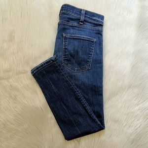 Current/Elliot the crop skinny jeans